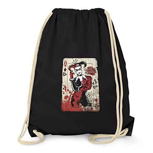 Kostüm Der Arkham Joker Asylum - Texlab Harley Queen - Turnbeutel, schwarz