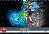 Downhill Explosion (Wandkalender 2018 DIN A4 quer): Zwölf einzigartig farbgewaltige Bilder von Downhillbikes und ihren Fahrern (Geburtstagskalender, ... [Kalender] [Apr 11, 2017] Meutzner, Dirk