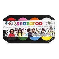 Snazaroo Face Paint 18 ml Palette Kit - 8 Colours