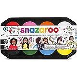 Snazaroo Face Paint Palette - 8 x 18ml colours