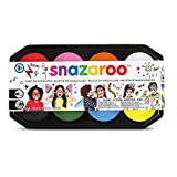 Snazaroo Face Paint 18 ml Palette Kit - 8 Colours