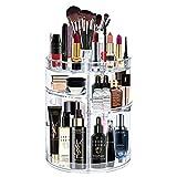 alvorog Organisateur de Maquillage 360° Rotatif Épaississement Présentoir Cosmétique Réglable Vanity de Grande Capacité...