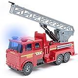 Powertoy super coche de bomberos vehículo con luces, sonidos y función que salpica el agua (Mamatoy MMA21000)