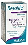 HealthAid Resolife Resveratrol 250 mg - 60 Vegan Capsules