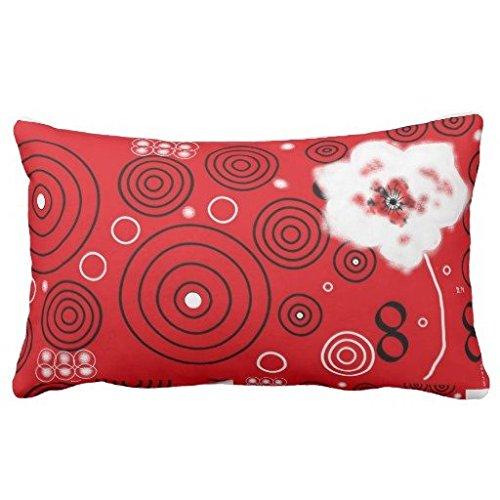 45,7cm Watercolor texture look Girly Pastel copertura del cuscino, color#38, 16X24 Inches