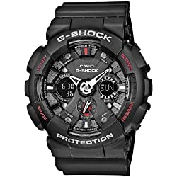 Casio G-Shock Reloj Analógico/Digital de Cuarzo para Hombre con Correa de Resina – GA-120-1AER