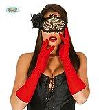 Guirca Fiestas GUI16498 - EIN Paar rote Handschuhe, 45 cm
