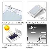 LE® 4er Pack LED Solarleuchte mit Bewegungsmelder - 4