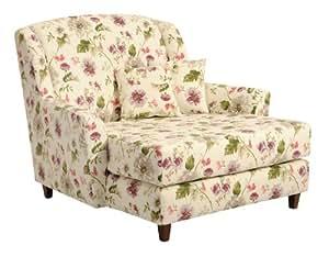 max winzer 2672 714 2045598 xxl jana liebes mega sessel blumenmuster floraler stoff amazon. Black Bedroom Furniture Sets. Home Design Ideas