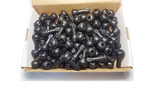 AllRight 100 TR414 Gummiventile Snap-In PKW Reifenventile Ventile Felgenventile Gummi
