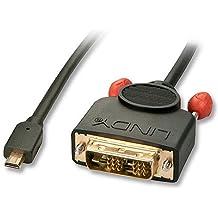LINDY 41150 – Cable de video Micro HDMI a DVI-D  - 0,5m