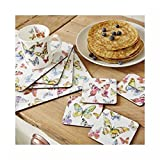 Tisch Untersetzer 4Pack von Cooksmart & Geschenk Butterfly