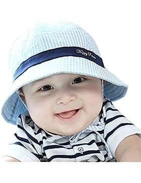 Baby Sonnenhut Kinder Fischerhut Schlapphut Kappe Sommer Blau