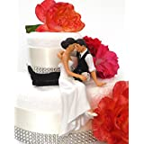 """la mirada del amor"" tarta de Boda de novia y novio ENAMORADO par - nuevo peinado"
