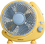 Havells Cresent 250mm Personal Fan (Yellow)