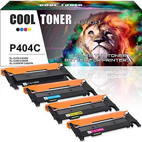 Cool toner 4 pack compatibile clt-404s clt-p404c clt-k404s cartucce toner per samsung xpress c480w c480fw c480fn c480 c430w c430 c432 c482 toner samsung c480fw clt-c404s clt-m404s clt-y404s stampanti