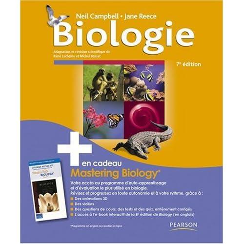 Biologie, 7e + Mastering Biology