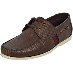 Red Tape Men's Brown Leather Formal Shoes - 11 UK/India (45 EU)