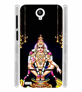 Lord Ayyappan Soft Silicon Rubberized Back Case Cover for Vivo Y22