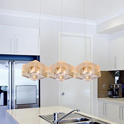 lampadario di cristallo moderno semplice ed elegante, lampadario in cristallo