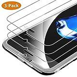 9HDClear Panzerglas Schutzfolie für iPhone 6/iPhone7/iPhone8 [3 Stück] Anti-Kratzer Displayschutzfolie für iPhone 7/8/6/6S Transparent Ultra Clear HD Ultra-klar 4,7 Zoll