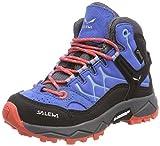Salewa Unisex-Kinder JR ALP Trainer MID GTX Trekking-& Wanderstiefel, Blau (Royal Blue/Hot Coral 3428), 31 EU