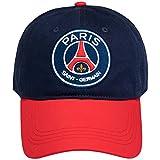 """Paris Saint-Germain, Kappe """"PSG"""",offizielle Kollektion, verstellbare Größe, für Erwachsene"""