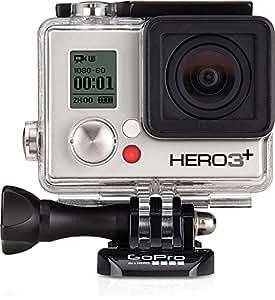 GoPro HERO3+ Silver Edition Videocamera 10 MP, 1080p/60 fps, 720p/120 fps, Wi-Fi [Italia]