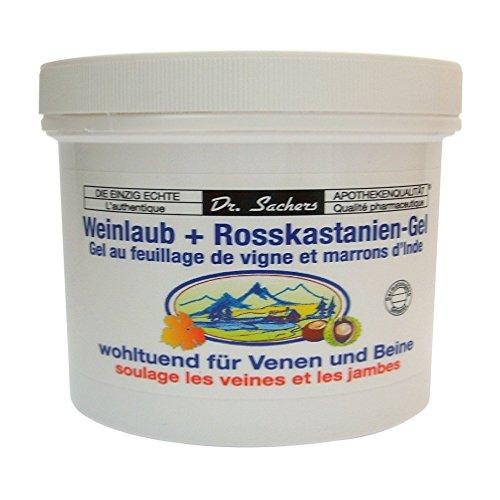 2 Dosen / Tiegel Weinlaub + Roßkastanien Gel