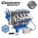 Discovery 6000179 - Costruye, Giochi, modellini per Bambini, Costruzione, Motore Giocattolo, Colore: Bianco