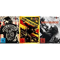 SONS OF ANARCHY Staffel 1 2 3 UNCUT Biker Collection 12 DVD Edition