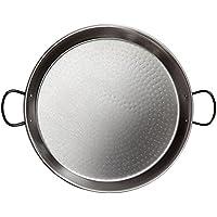 acciaio tradizionale paella pan 46cm - (12 Persone)