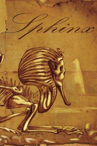Sphinx Skeleton Notebook: 150 page Notebook Journal Diary: Volume 65