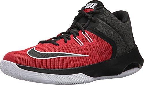Nike Herren Air Versatile II Rot Mesh Basketballschuhe 44,5