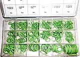 HNBR O-Ringe Ringdichtungen 270 Stück im Sortiment - Sortiert in gängigen Größen, hohe Widerstandsfähigkeit