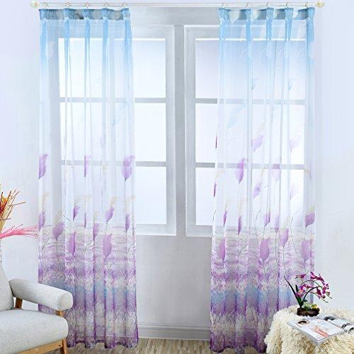 Kinlo 2 pannelli 145 x 245 cm tende oscuranti tinta unita moderno semplicità tende camera da letto soggiorno rumore riduzione tende da finestra (viola)