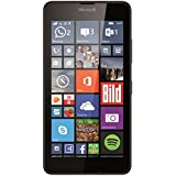 "Microsoft Lumia 640 LTE - Smartphone libre Windows Phone (pantalla 5"", 8 GB, Quad-Core 1.2 GHz, 1 GB RAM, 4G), negro"