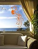 yaoxingfu Pegatinas de Vinilo para Pared Diseño para el hogar Calcomanía de Pared aPrueba deagua Decoración Elegante Sala de Estar Mural57X95 cm
