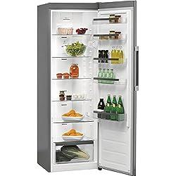 Whirlpool SW8 AM2Q X Autonome 363L A++ Gris, Acier inoxydable réfrigérateur - Réfrigérateurs (363 L, SN-T, 38 dB, A++, Gris, Acier inoxydable)