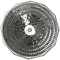 Replacement Grid/Grill Plate, Tinned, For S3 5 Qt. Mouli Mill - Medium