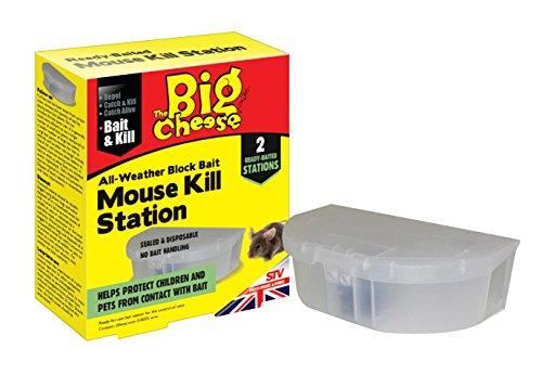 The Big Cheese Pronta per l'uso Stazioni uccidere Mouse - Twin Pack