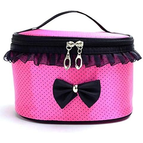 Cosmetic Bag, portatile Viaggi toeletta trucco supporto dell'organizzatore borsa