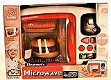Kinder Mikrowelle mit Licht Sound und Drehfunktion Küche Backofen