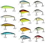 Croch Set di wobbler per pesca al luccio, 15 pezzi