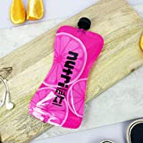 Nutri Fill-It Re-Usable Smoothie Pouches (pack of 2 Pink pouches)