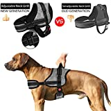 SlowTon No Pull Dog Vest Harness, New Generation Adjustable Neck Strap and Chest