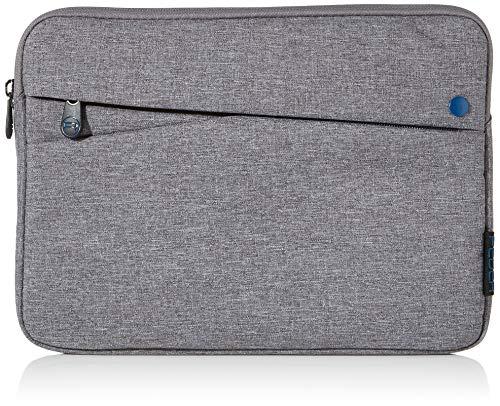 Pedea Tablet PC Tasche Fashion für 10,1-11 Zoll (25,6-27,96 cm) Schutzhülle Etui Case mit Zubehörfach, grau/blau
