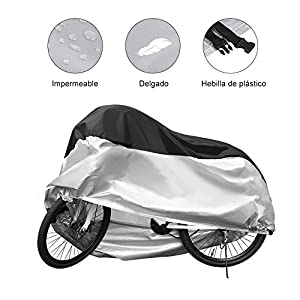 GHB Funda Bicicleta 190T para Resistente al Agua a Prueba de UV para Bicicleta de Súper Pesado,Bicicleta de Montaña y de Carretera 200 x 110 x 70 cm