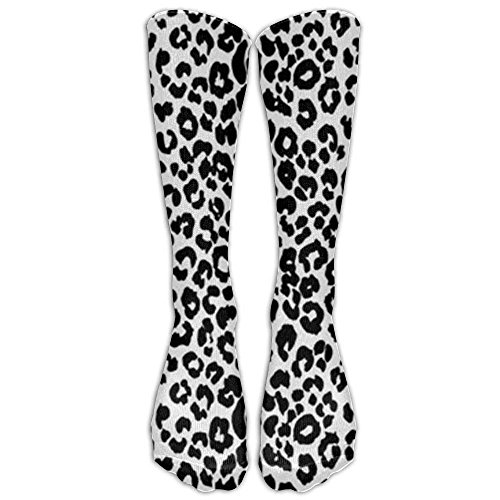 Cool Leopard Skin Womens Mens Funny Athletic Long High Stockings Cool Snow Leopard Print - Leopard Hat Womens