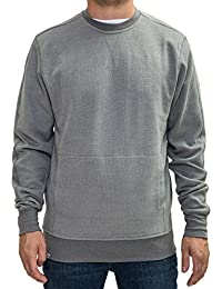 Reell Stitch Crewneck Sweat-shirt gris
